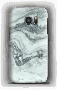 Groenig marmer hoesje Galaxy S7