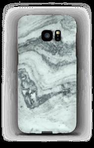 Groenig marmer hoesje Galaxy S7 Edge