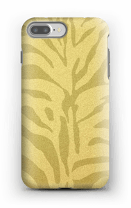 Zebra dourada Capa IPhone 7 Plus tough