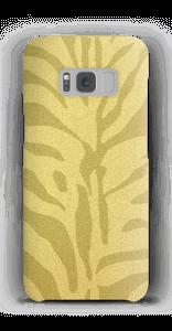 Zebra Gold Handyhülle Galaxy S8