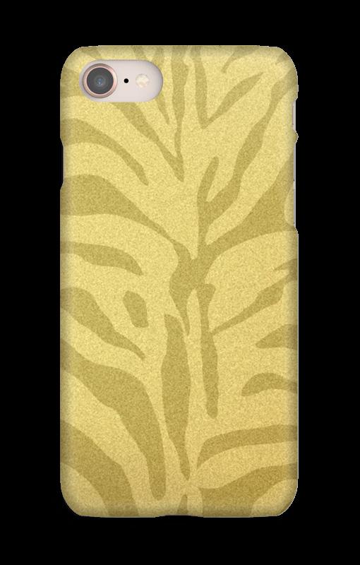 Zebra dourada Capa IPhone 8