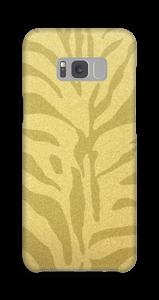 Zèbre doré Coque  Galaxy S8 Plus