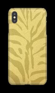 Zèbre doré Coque  IPhone XS Max