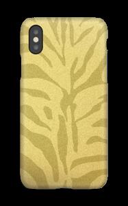 Zèbre doré Coque  IPhone XS
