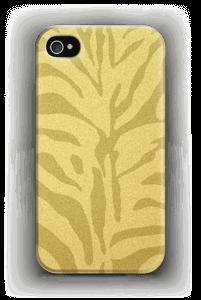 Zèbre doré Coque  IPhone 4/4s