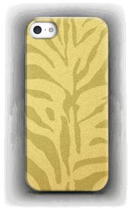 Zebra dourada Capa IPhone 5/5S