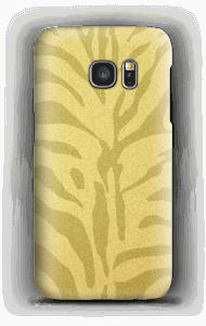 Zebra dourada Capa Galaxy S7