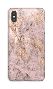 Rosa-dourado Capa IPhone XS Max