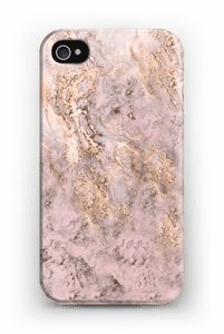 RosaGull  deksel IPhone 4/4s