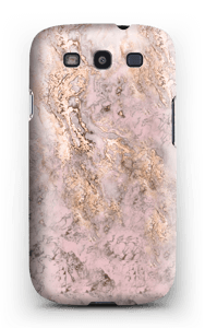 Rosa-dourado Capa Galaxy S3