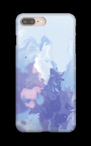 Liila pläjäys kuoret IPhone 8 Plus