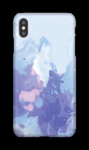 Mistura violeta Capa IPhone XS Max