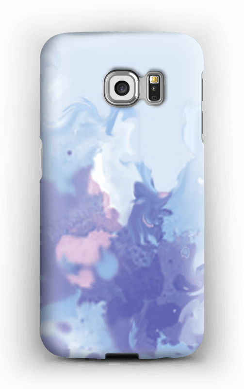Splashy Splash deksel Galaxy S6 Edge