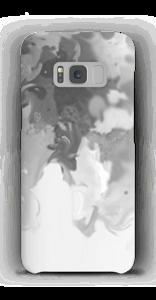 Salpicos cizentos Capa Galaxy S8