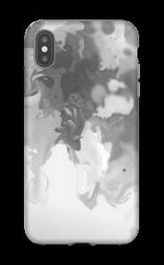 Harmaa pläjäys kuoret IPhone XS Max tough