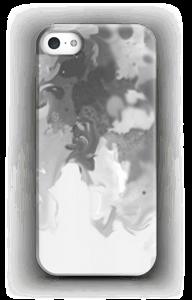 Harmaa pläjäys kuoret IPhone 5/5S