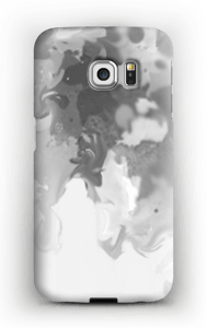 Salpicos cizentos Capa Galaxy S6 Edge
