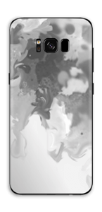 Splash gris Skin Galaxy S8 Plus