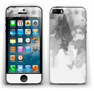 Splash gris Skin IPhone 5s