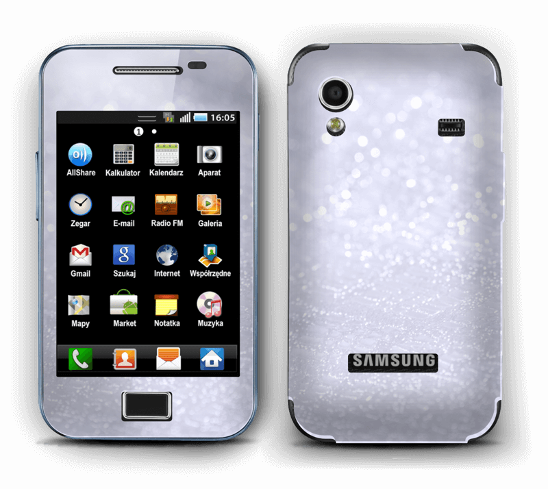 Paillettes Skin Galaxy Ace