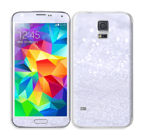 Paillettes Skin Galaxy S5