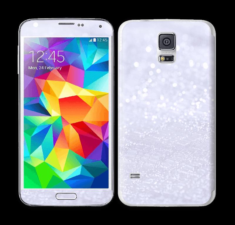 Paillettes Skin Galaxy S5