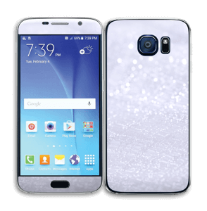 Paillettes Skin Galaxy S6