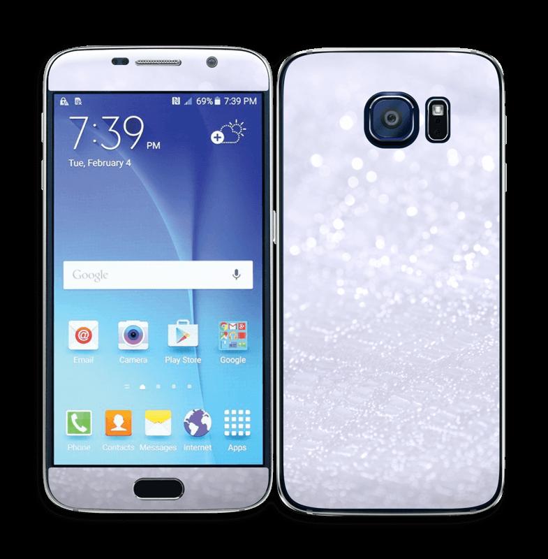 Paillettes Skin Galaxy S6
