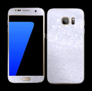 Glitrende snø Skin Galaxy S7