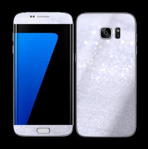 Glitrende snø Skin Galaxy S7 Edge
