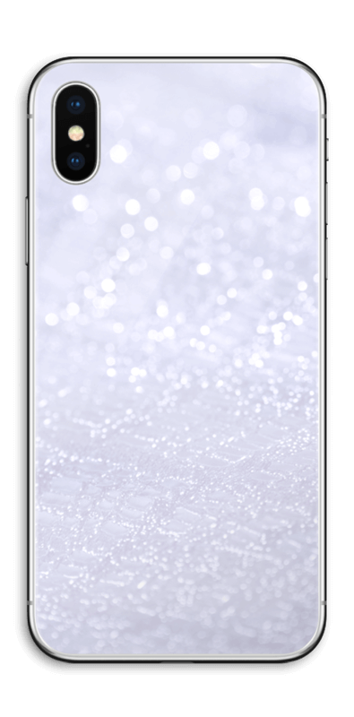 Cooles Glitzern Skin IPhone X