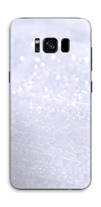 Glitrende snø Skin Galaxy S8