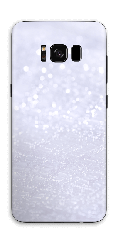 Paillettes Skin Galaxy S8