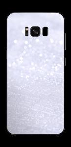 Glitrende snø Skin Galaxy S8 Plus