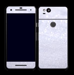 Glitrende snø Skin Pixel 2