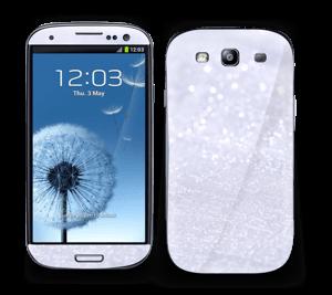 Glitrende snø Skin Galaxy S3