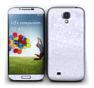 Glitrende snø Skin Galaxy S4