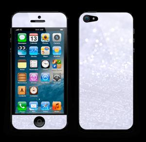 Glitrende snø Skin IPhone 5