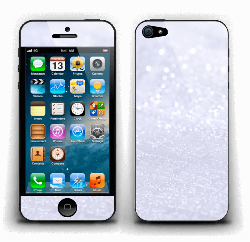 Paillettes Skin IPhone 5
