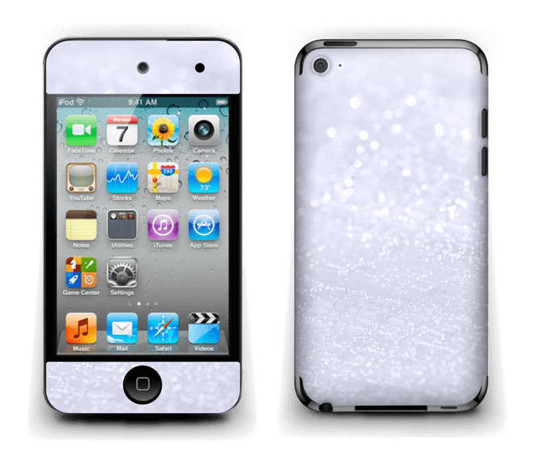 Paillettes Skin IPod Touch 4th Gen