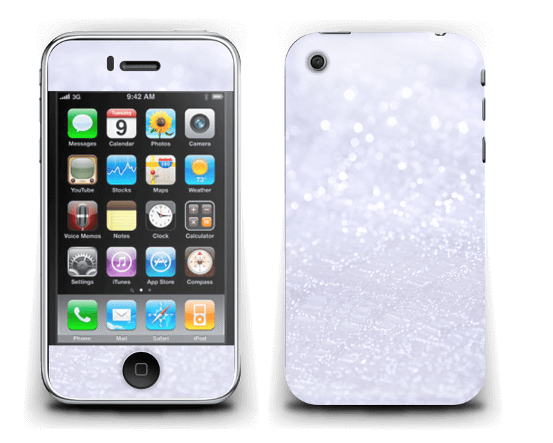 Paillettes Skin IPhone 3G/3GS
