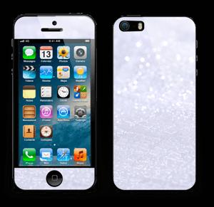 Glitrende snø Skin IPhone 5s