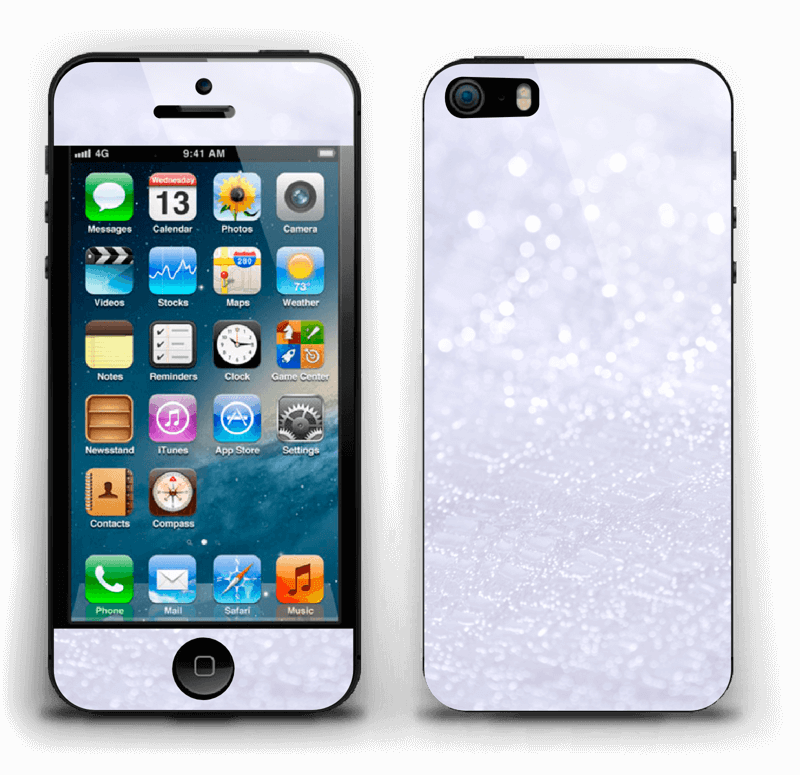 Paillettes Skin IPhone 5s