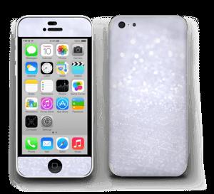 Glitrende snø Skin IPhone 5c