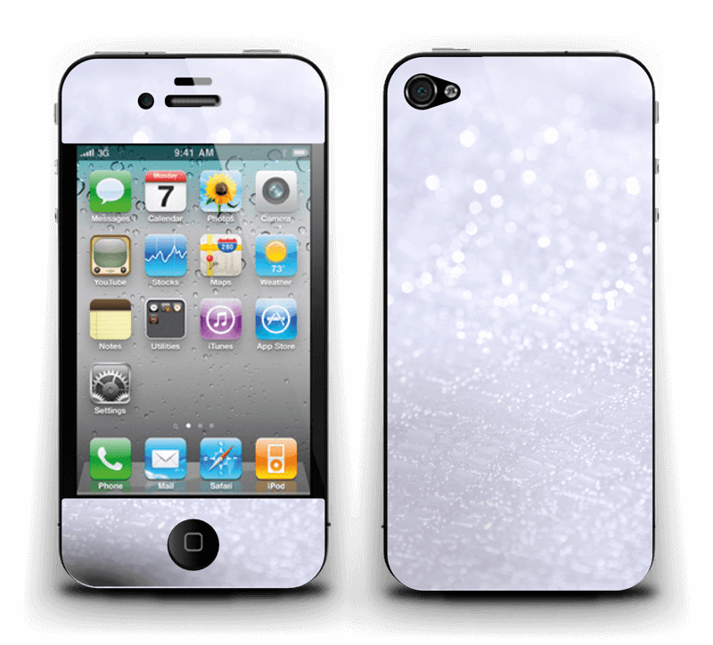 Paillettes Skin IPhone 4/4s