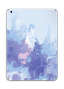Splash violet Skin IPad Air