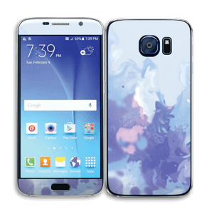 Pastell lilla Skin Galaxy S6