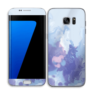 Pastell lilla Skin Galaxy S7 Edge