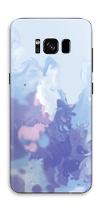Pastell lilla Skin Galaxy S8