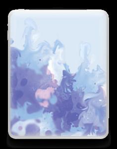 Purple pastel Skin IPad 1